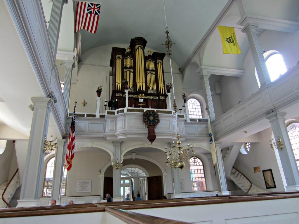 Old North Church inside