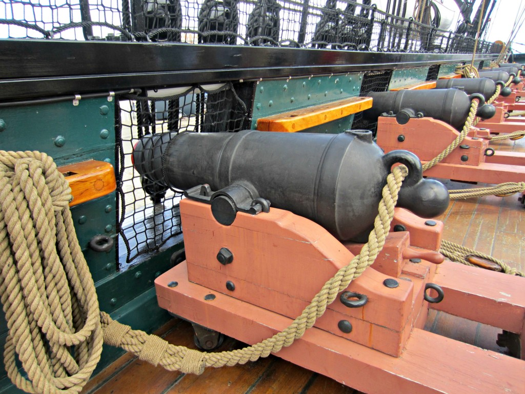 USS Constitution Cannons