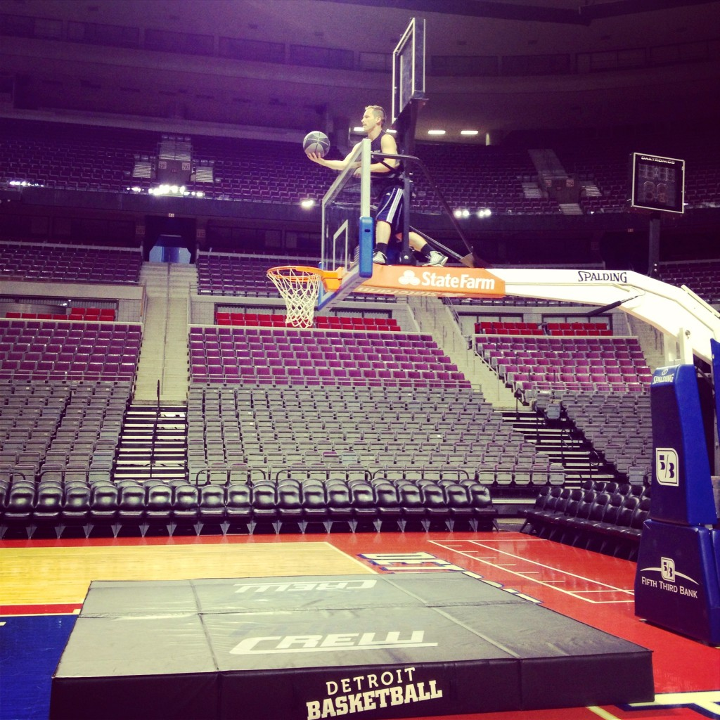 flight crew dunk practice