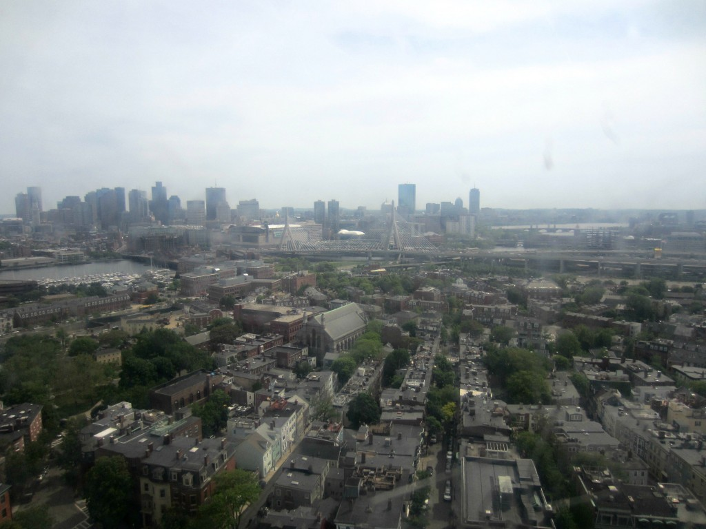 top of Bunker Hill Monument