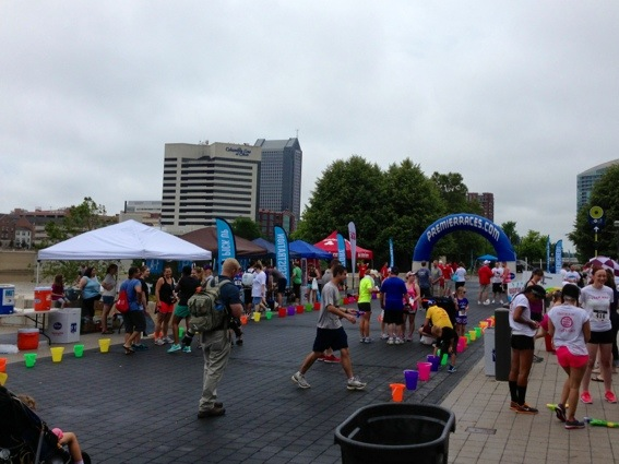 Drenched 5K Columbus 2013