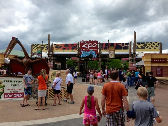 Columbus Zoo Entrance