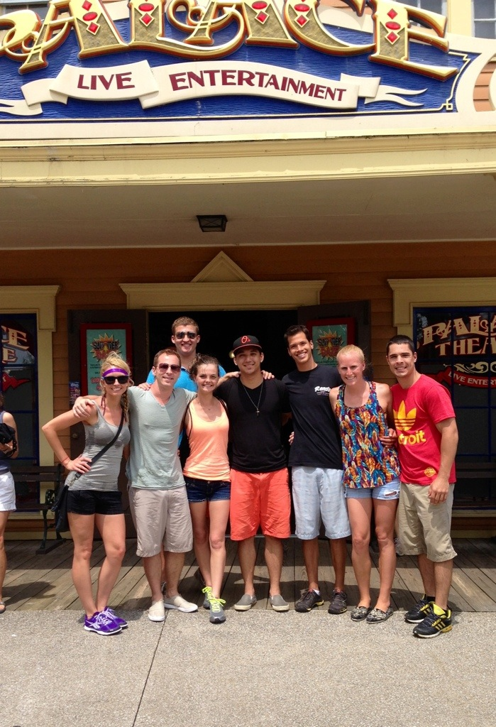 friends at cedar point
