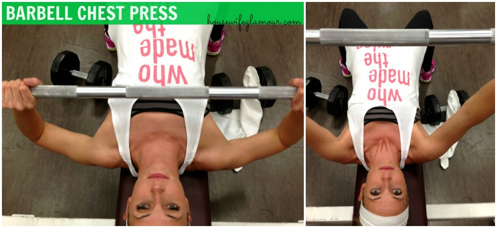 Barbell Chest Press demo
