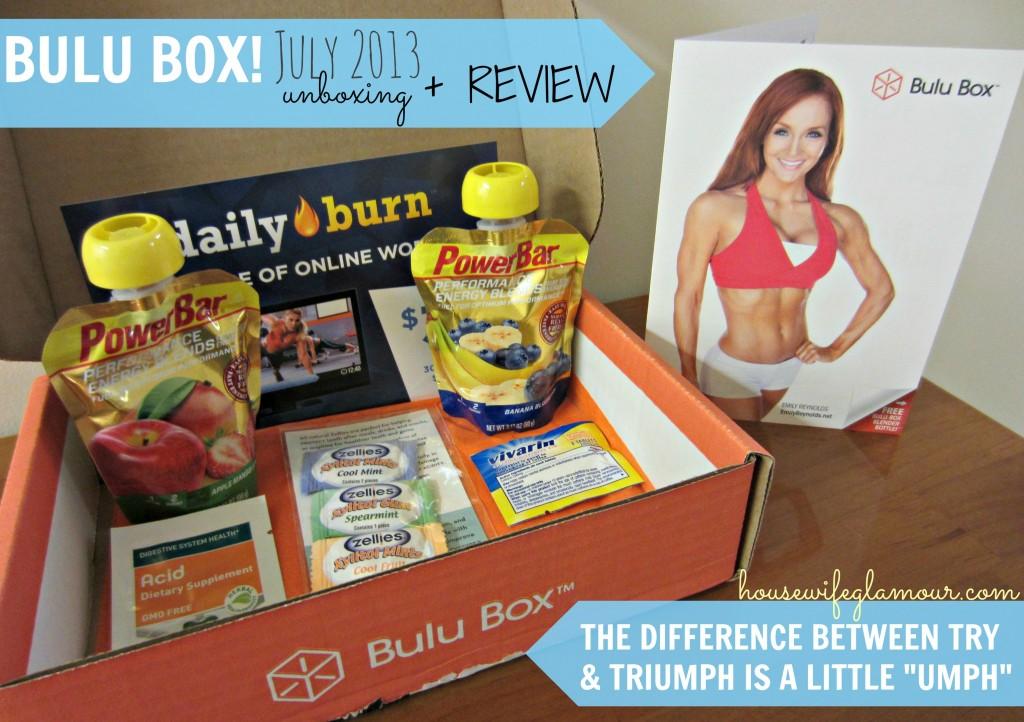 Bulu Box July 2013 Cover