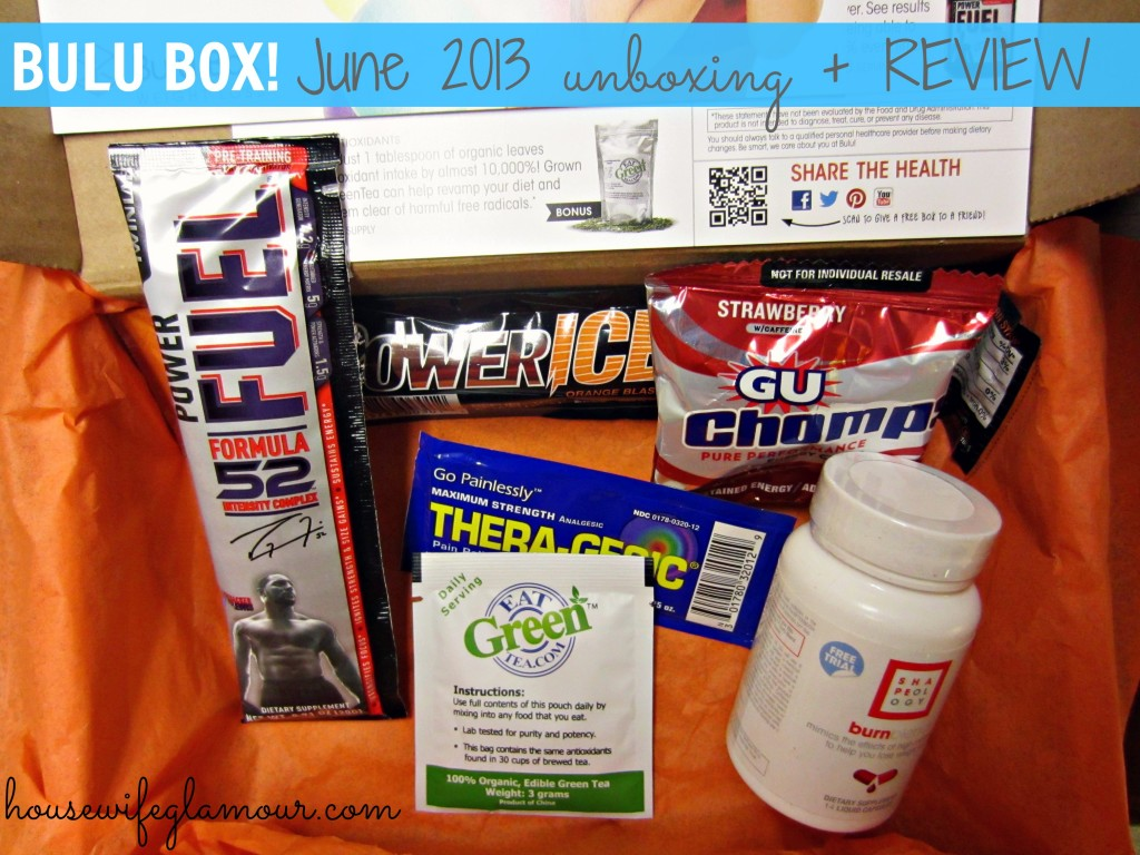 Bulu Box June 2013 review
