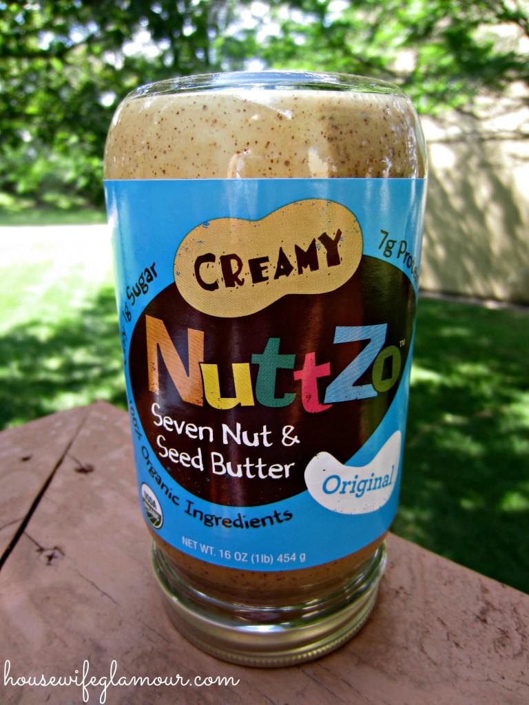 Creamy NuttZo seven nut seed butter
