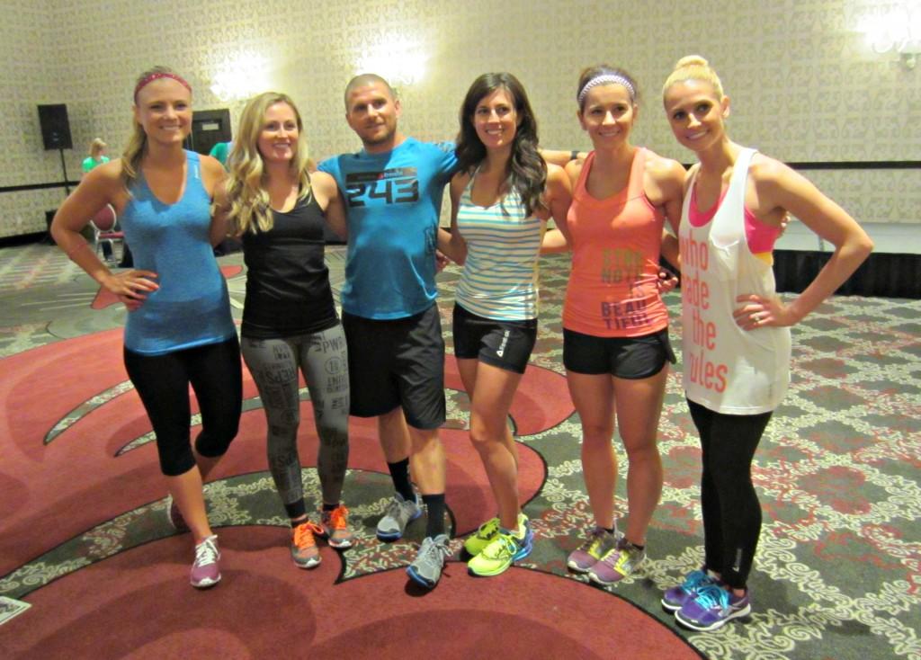 CrossFit Class at FitBloggin' 13