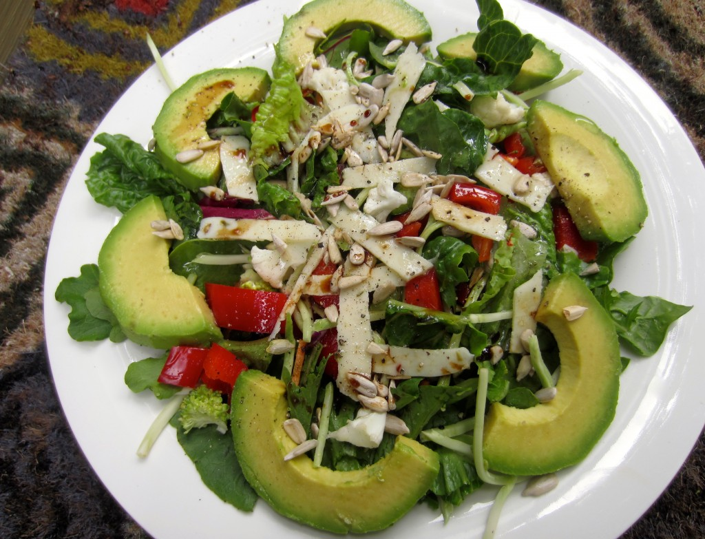 Green monster salad