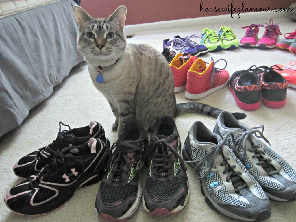 Old Running Shoes for Kind Runner