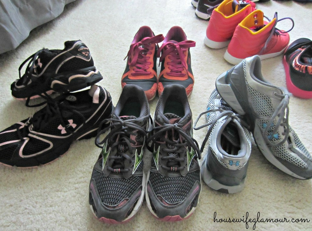 Old Shoes for Kind Runner