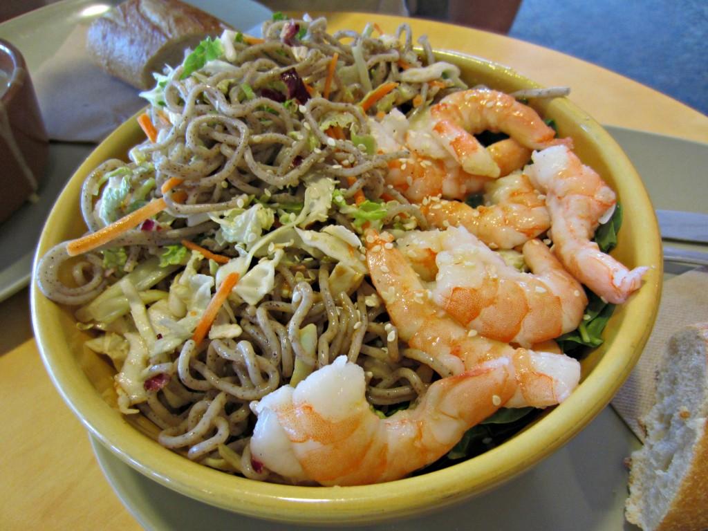 Panera Shrimp Noodle Salad