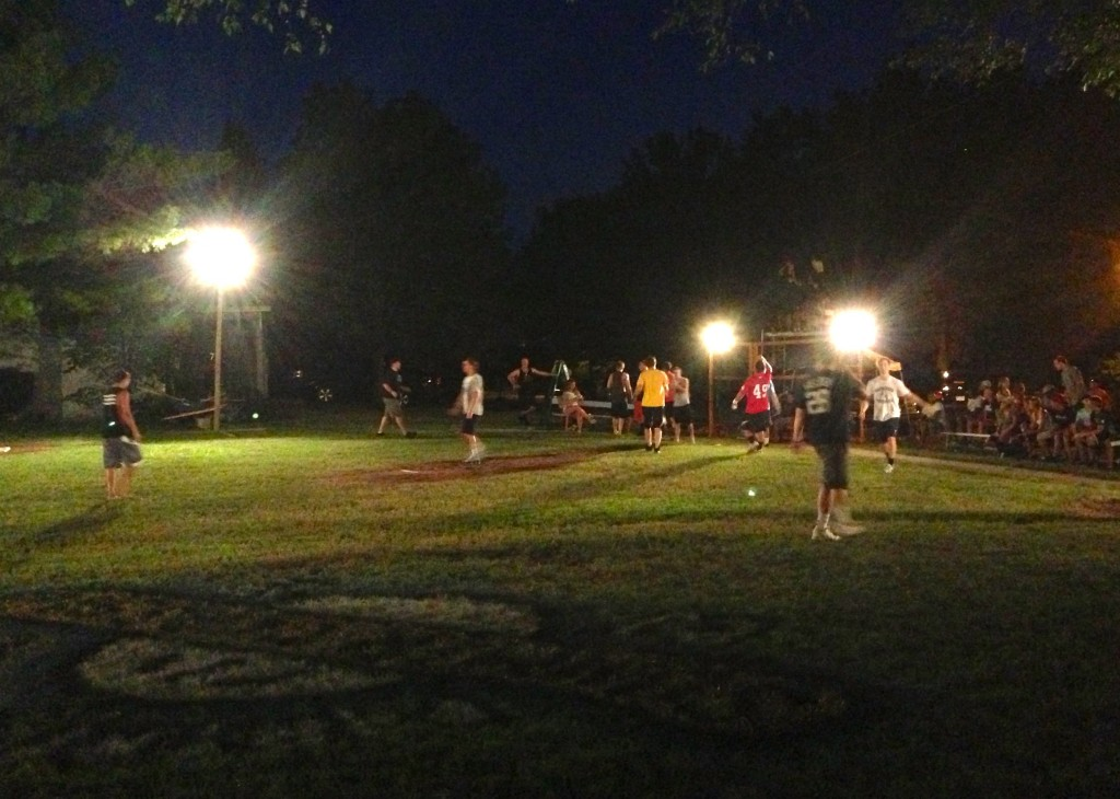 Partridge Park at night