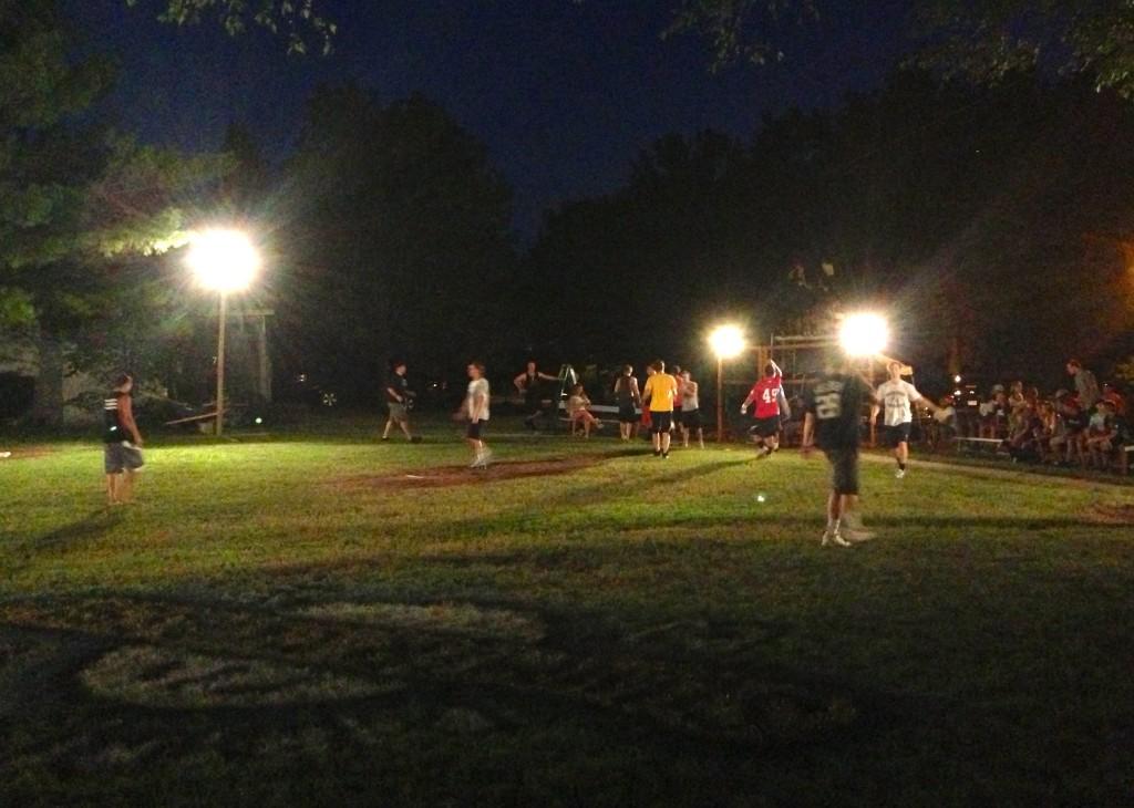 Partridge Park at night