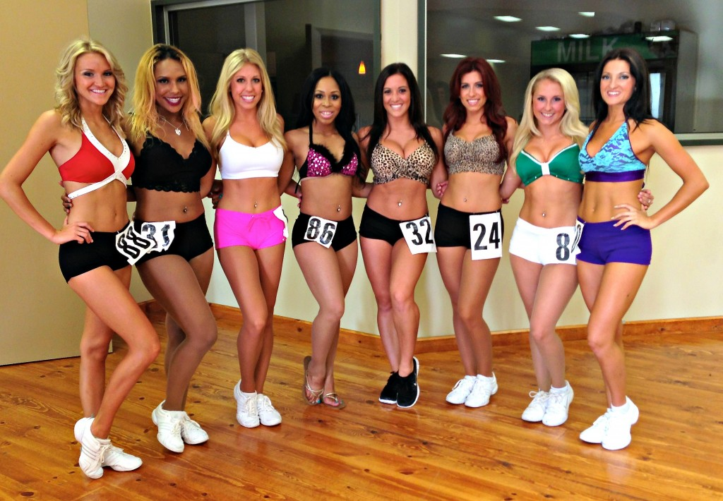 Pistons Dancers 3rd year vets