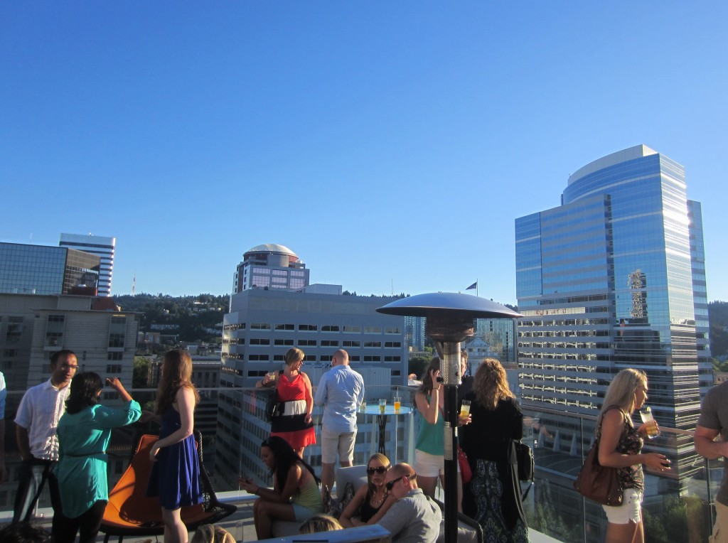 Rooftop Bar The Nines Portland