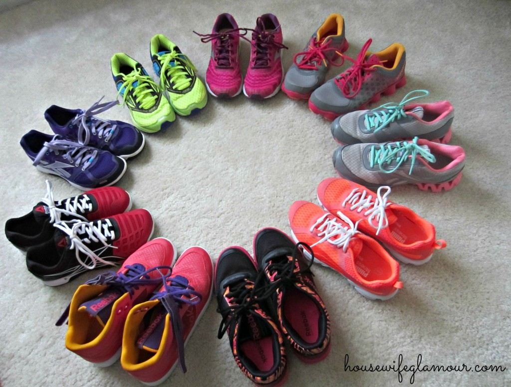 Sponsored Fitness Shoe Collection