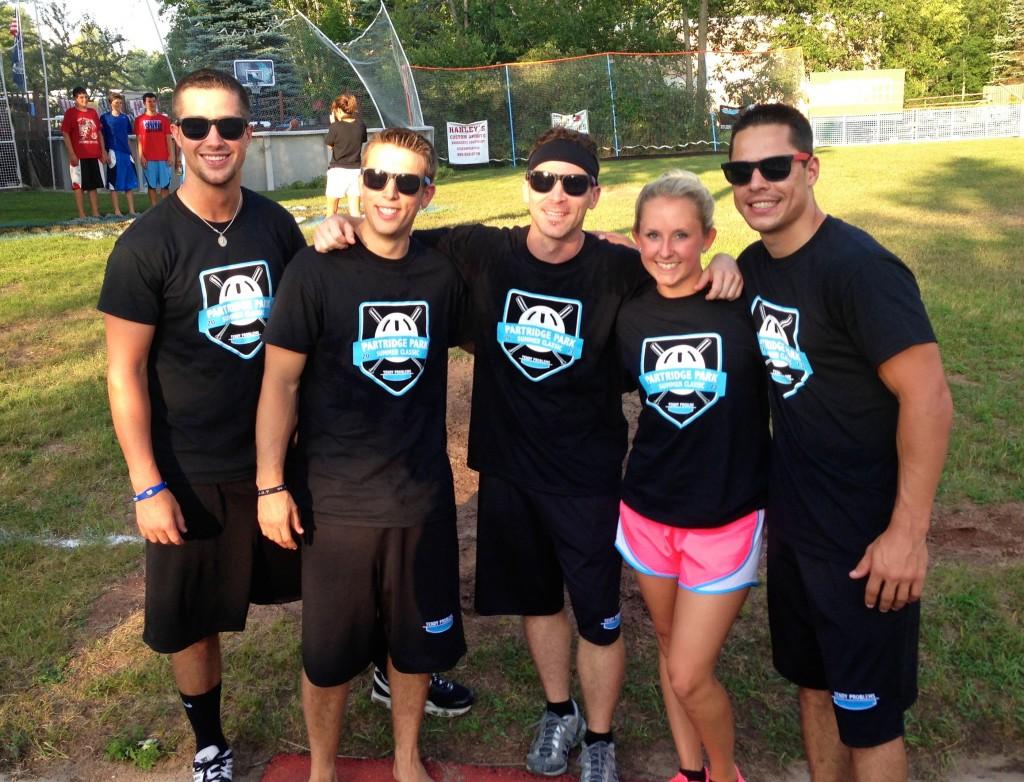 Tendy Problems wiffe ball team 2013
