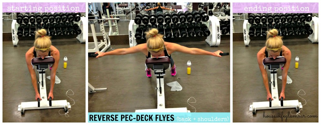 back and shoulder move with weights