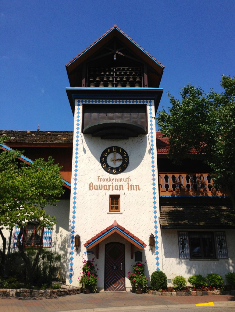 Frankenmuth Glockenspiel Tower