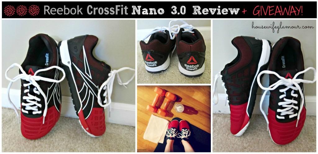 Reebok CrossFit Nano 3.0 Reebok Giveaway