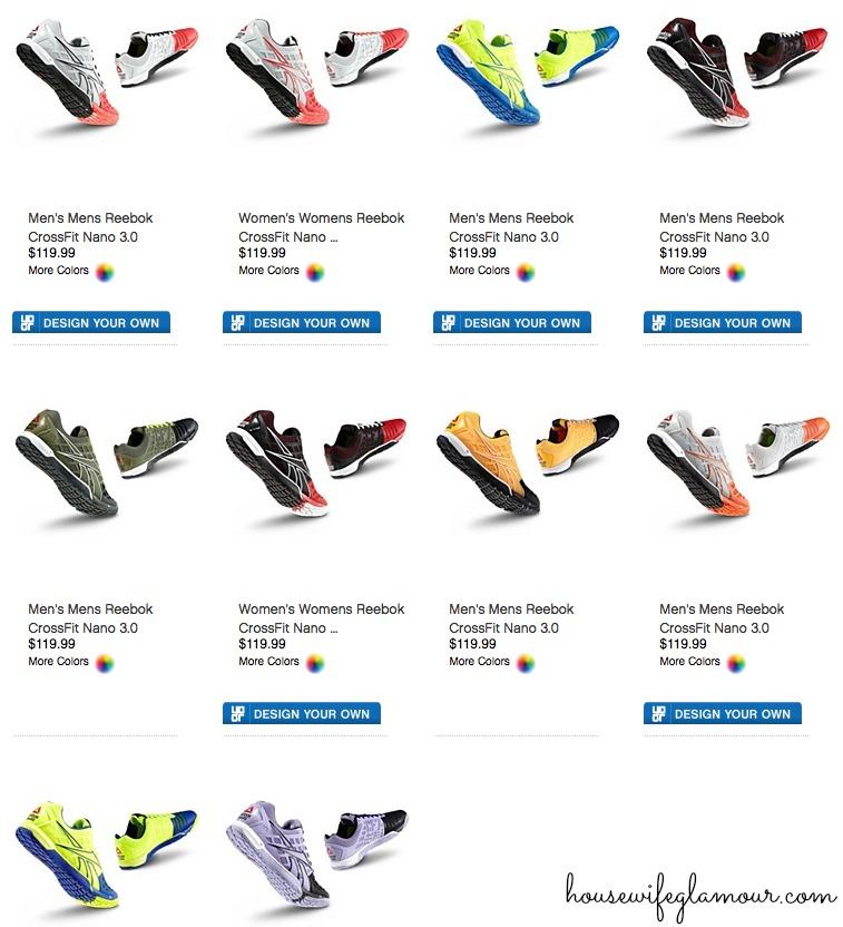 Reebok CrossFit Nano 3.0 sneakers