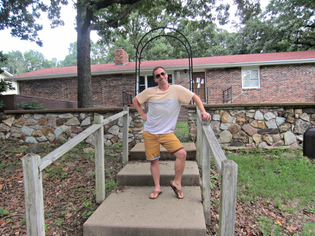 Scott's old house in Branson