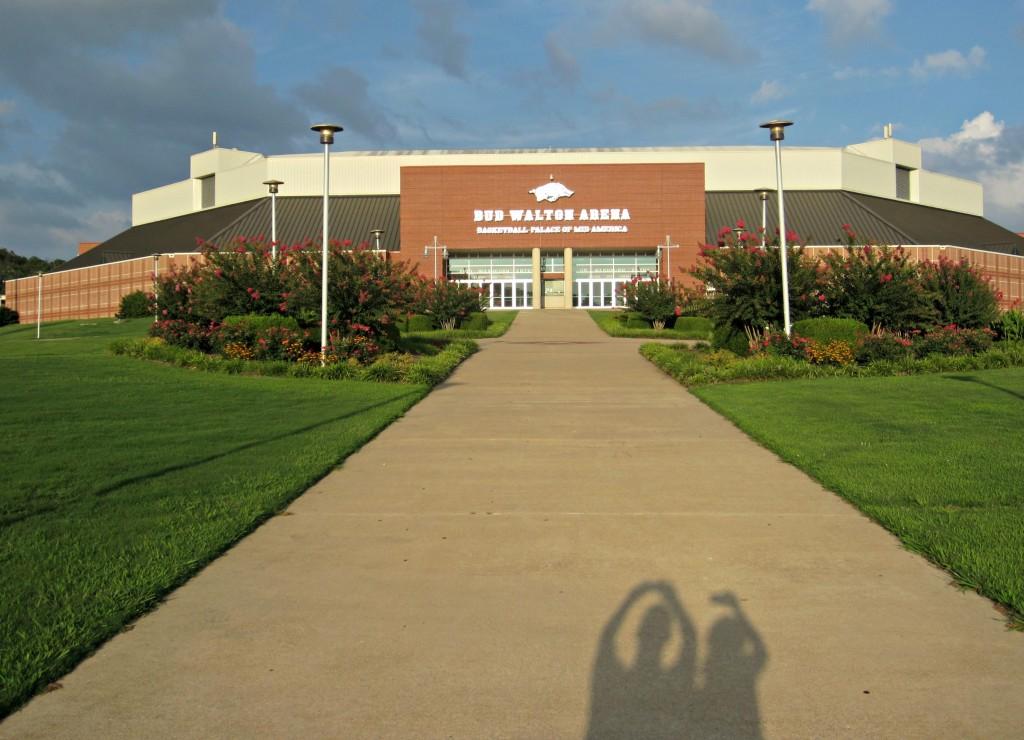 bob walton arena U of A