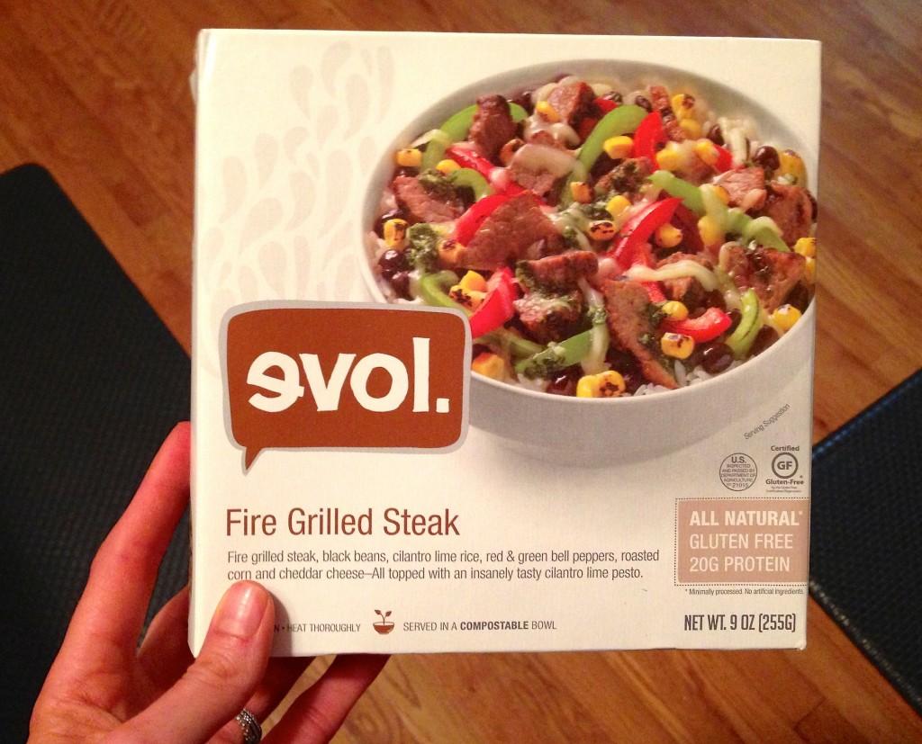 evol steak dinner
