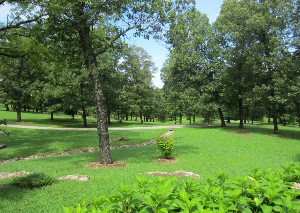 front yard in arkansas