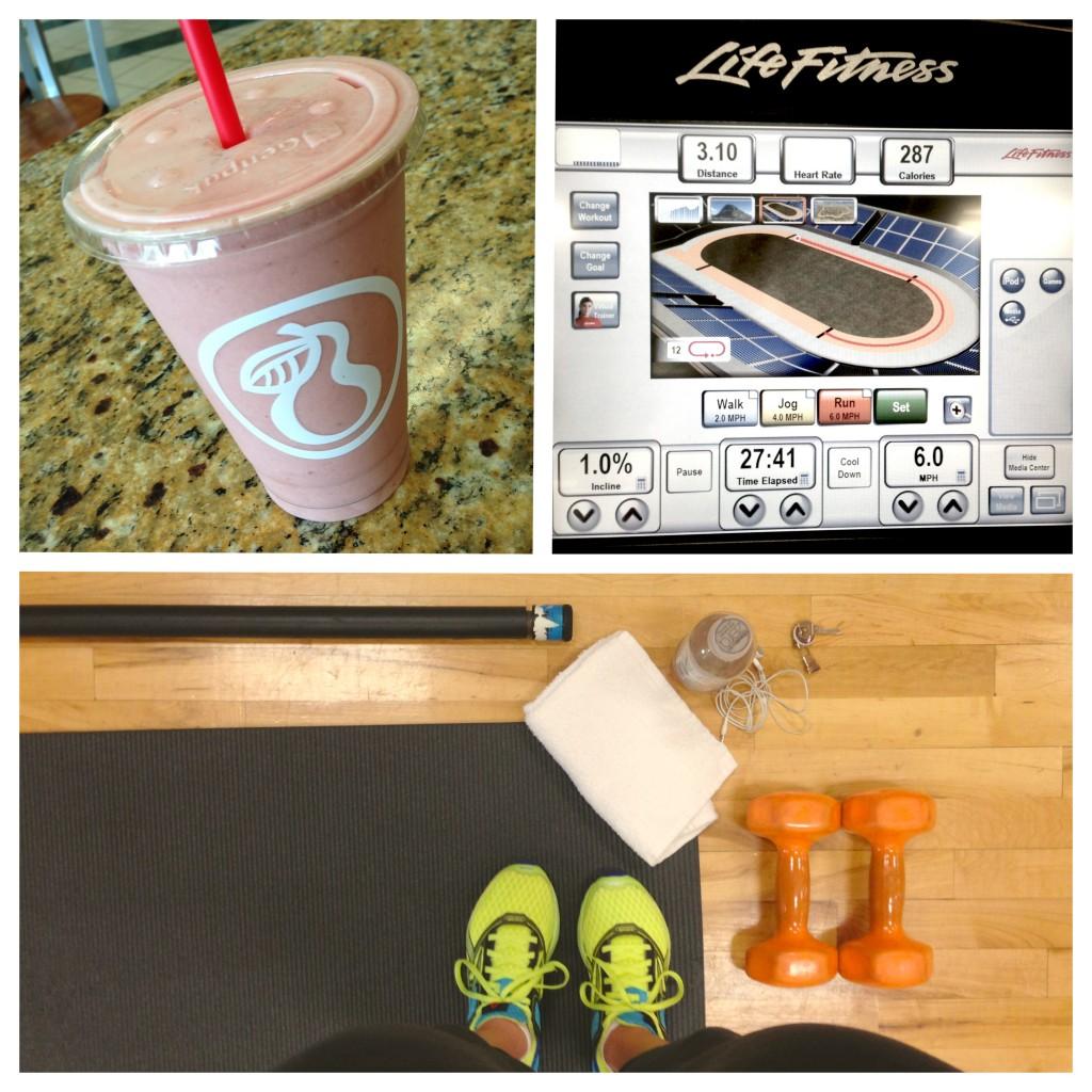 monday workout routine