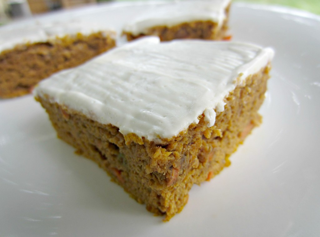 Carrot Pumpkin Bars