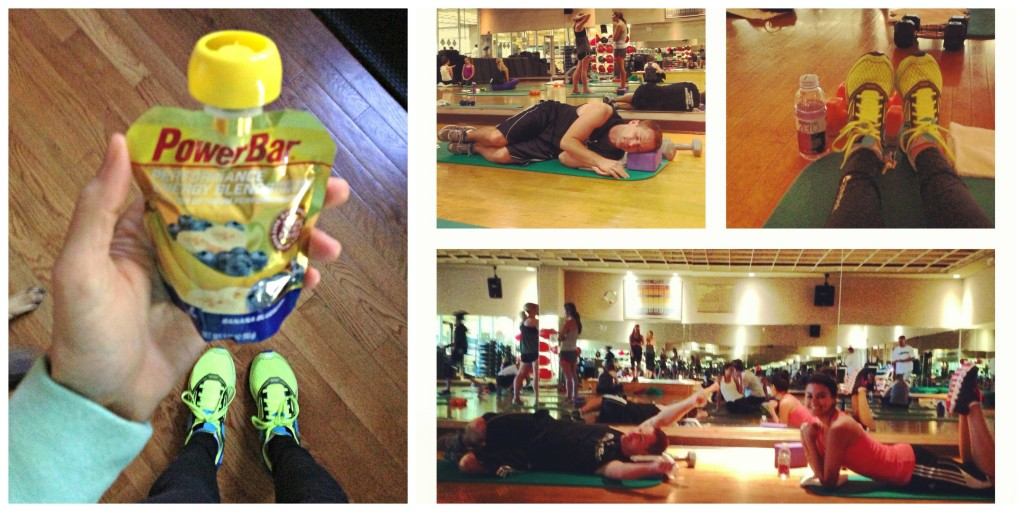 Fitness Pilates collage