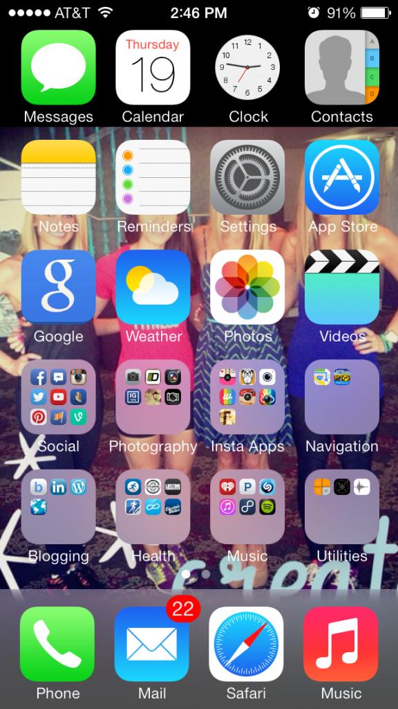 iOS7 software