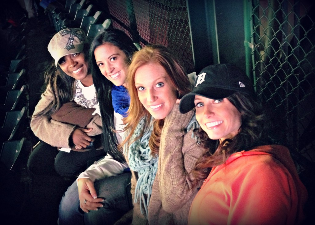 Tigers game with friends