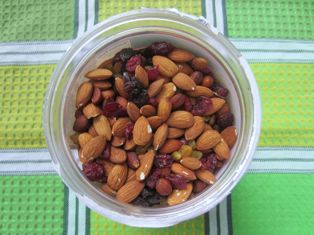 almond and seed mix for photoshoot