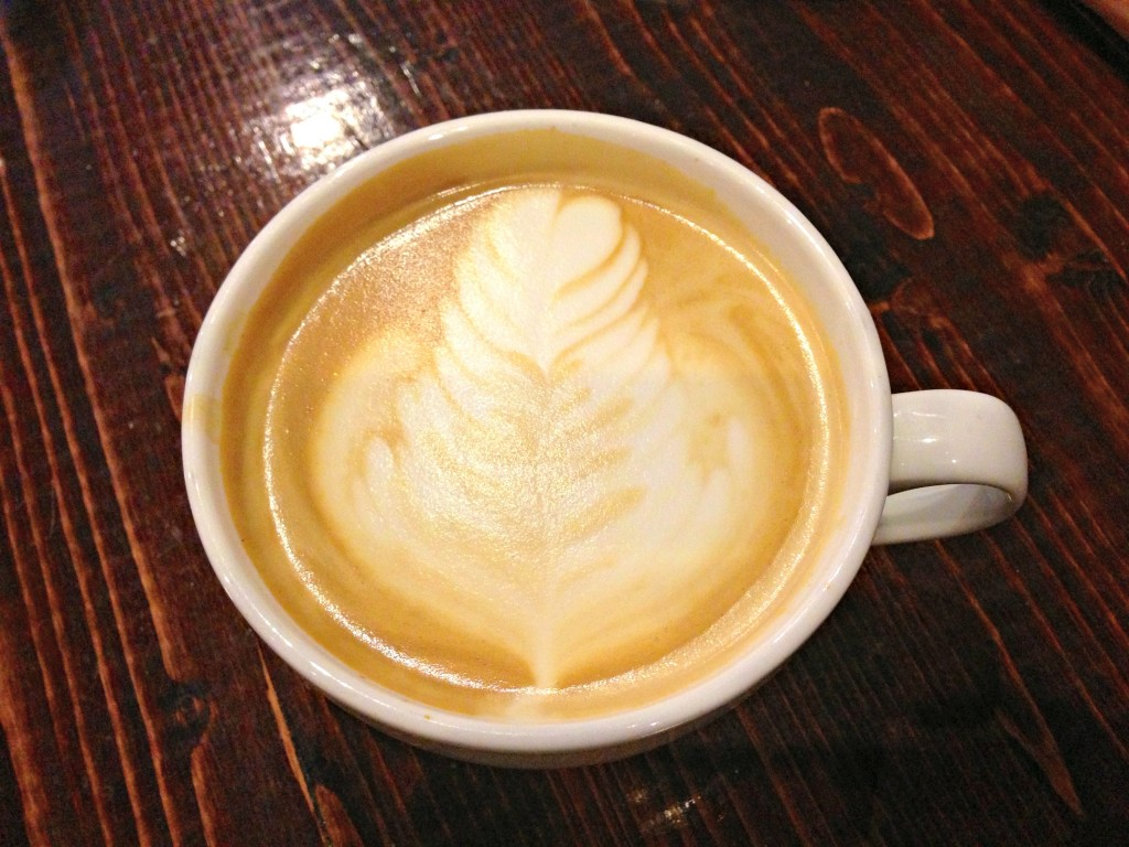 fancy pumpkin spice latte