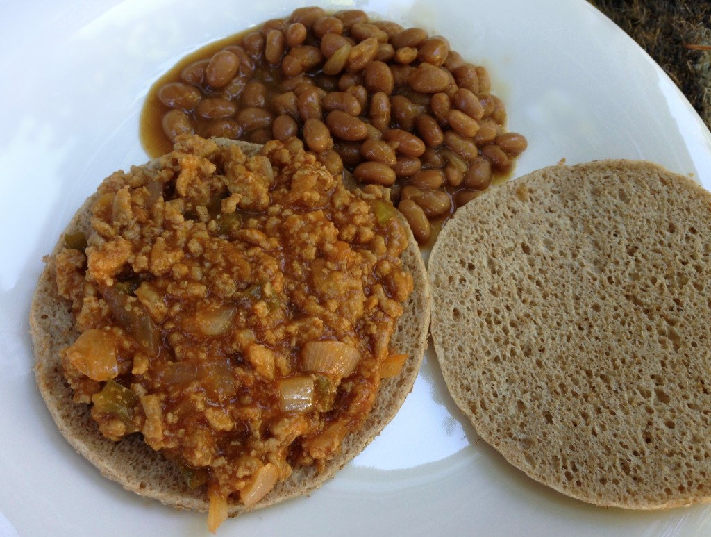 healthy sloppy joes lunch