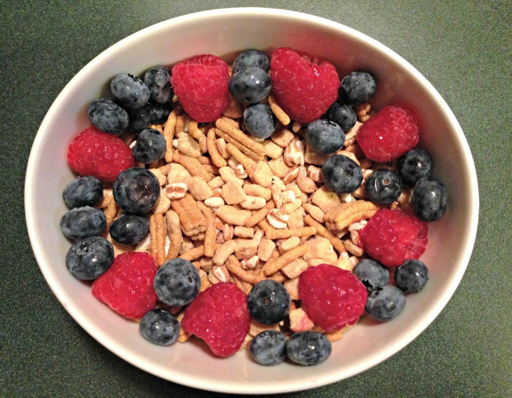 kashi go lean cereal with berries