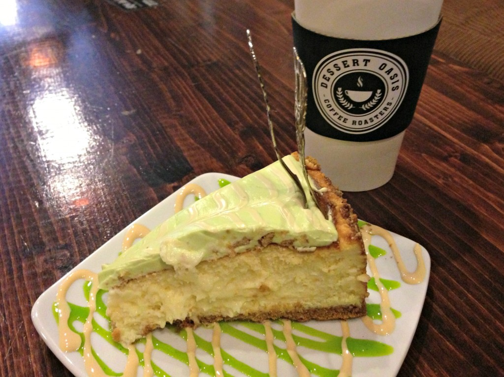 key lime cheesecake dessert