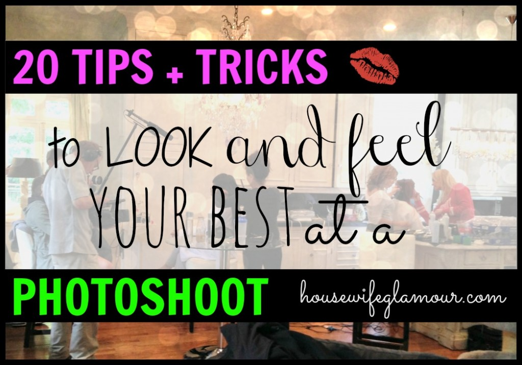 photo shoot tips and tricks