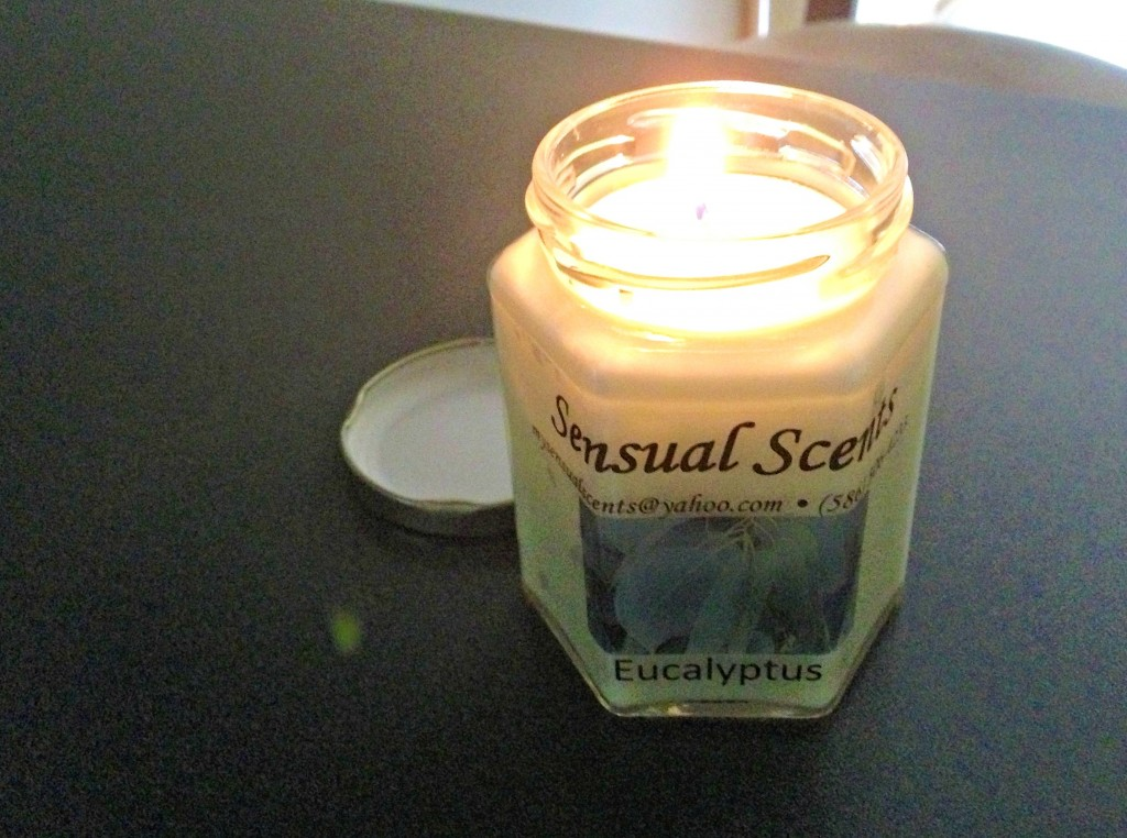 sensual scents soy candle