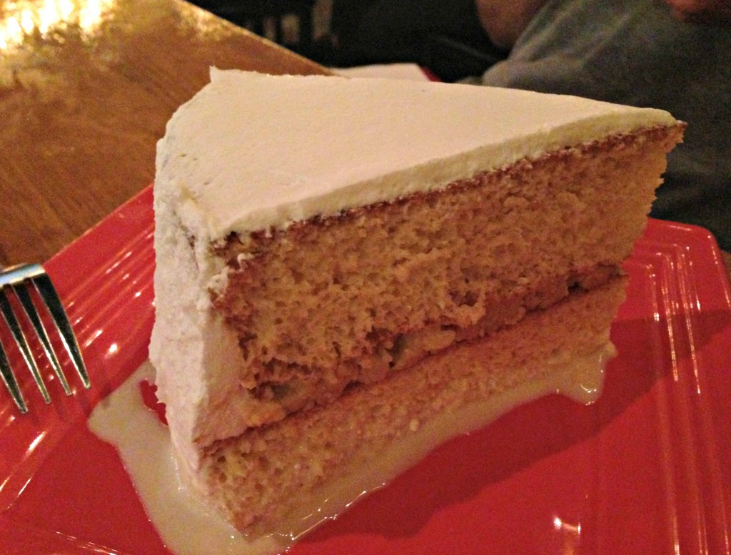 tres leches cake Miguel's Cantina