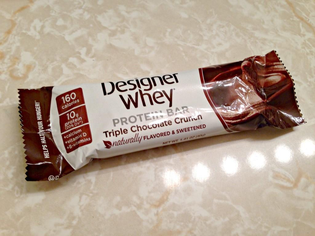 Designer Whey protein bar