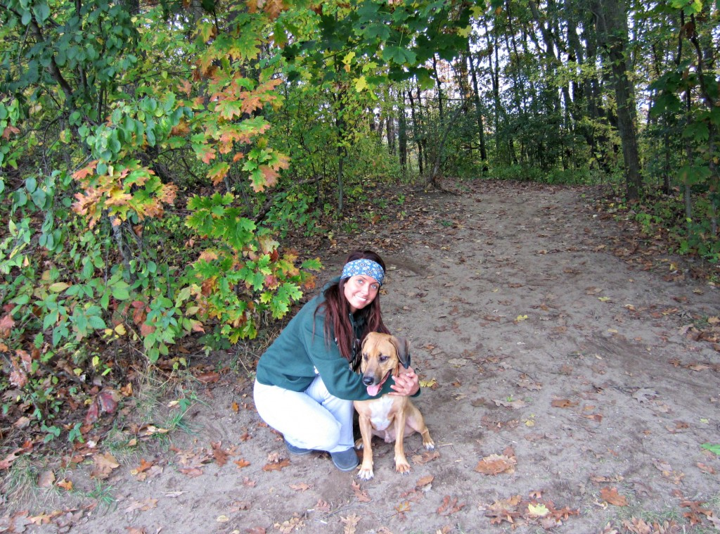 Me and Roadie at dog park