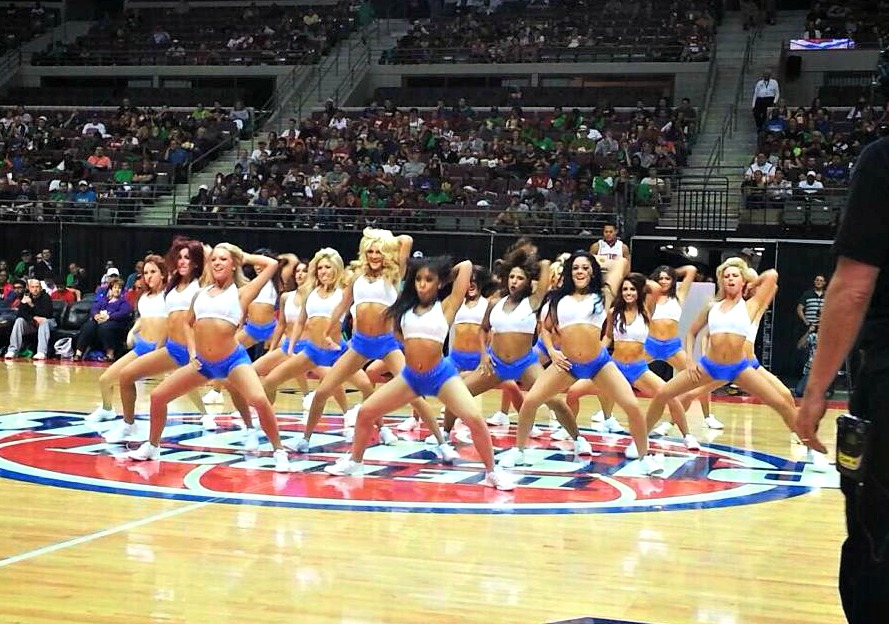Pistons Open Pracitce DPD