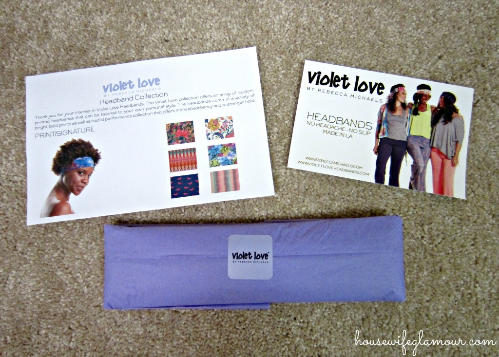 Violet Love Headband Collection