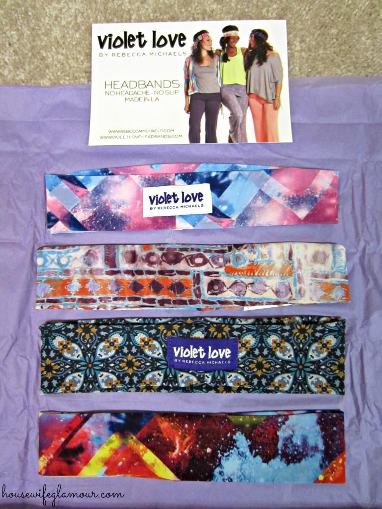 Violet Love Headband Giveaway