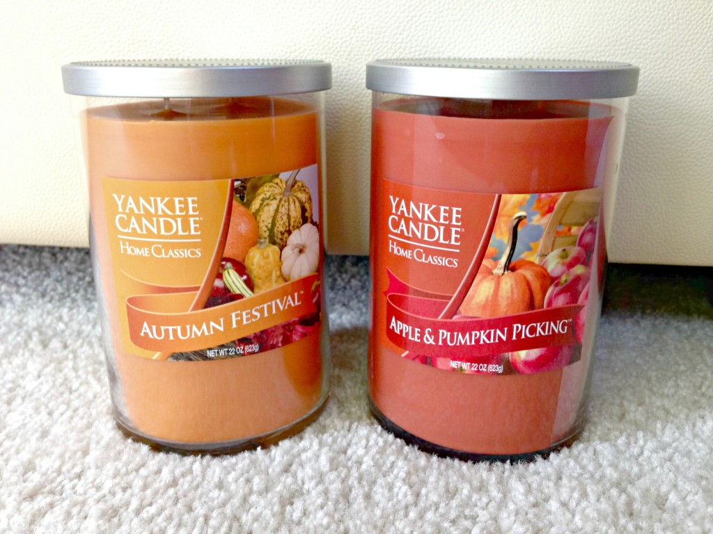 Yankee Candles for fall