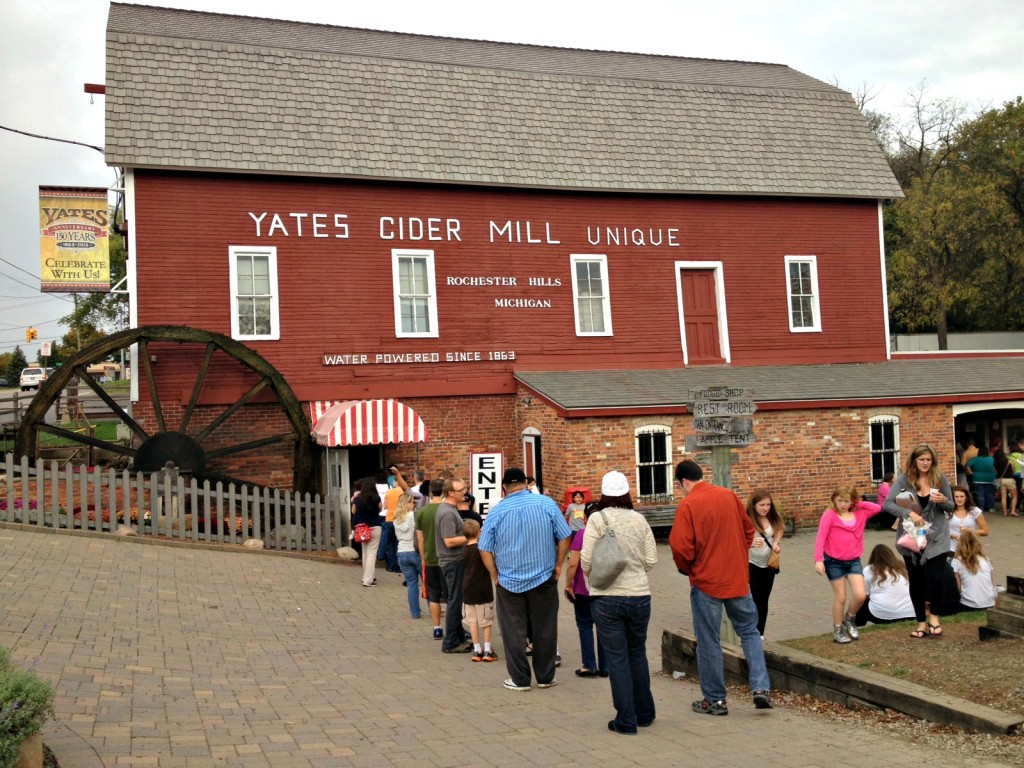 Yates Cider Mill Fall 2013